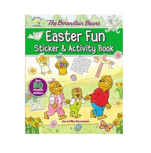 Sách Những Chú Gấu Berenstain Và Sticker, Trò Chơi Phục Sinh Vui Nhộn - The Berenstain Bears Easter Fun Sticker & Activity Book - SA - 1470