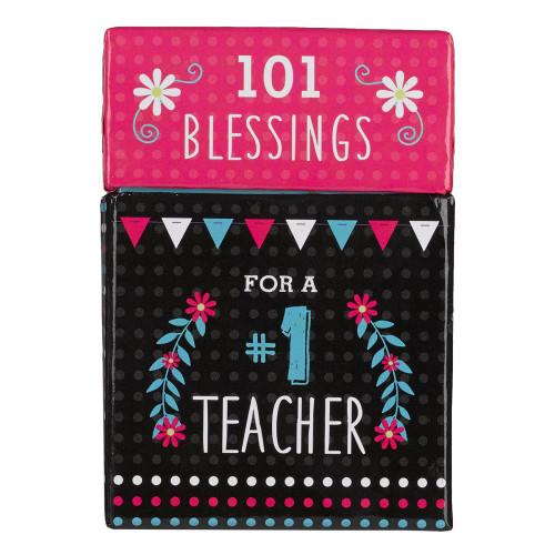 Hộp Card Thông Điệp - Blessings for a #1 Teacher - BX105