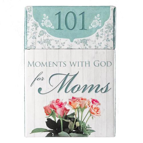 Hộp Card 101 Thông Điệp Dành Cho Mẹ - 101 Moments with God for Moms - BX106