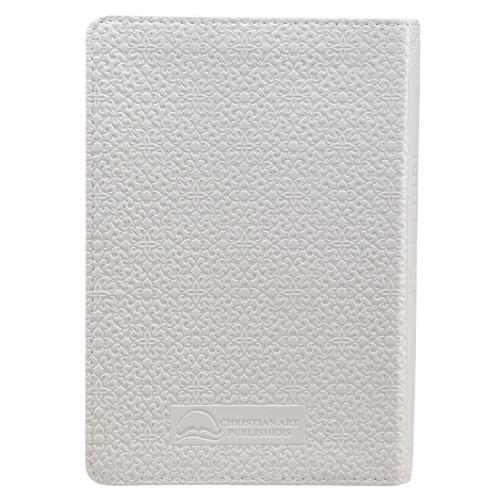 Kinh Thánh Tiếng Anh - Bản King James Version KJV - Bìa Da Màu Trắng - KJV006
