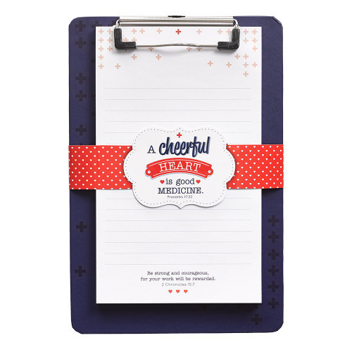 Bảng kẹp Clipboard - A Cheerful Heart - CLB024