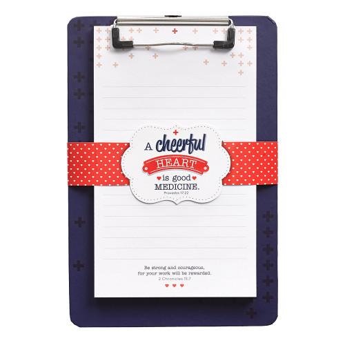 Bảng kẹp Clipboard - A Cheerful Heart - CLB024