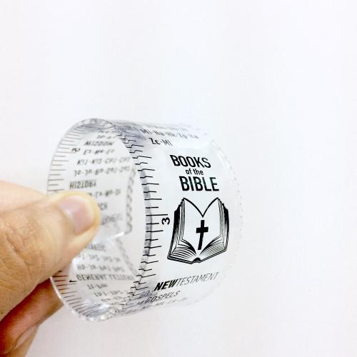 Thước Kẻ Nhựa Dẻo - Mục Lục Kinh Thánh (Tiếng Anh) - TK-1659