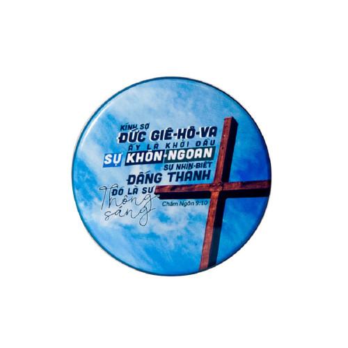 Huy Hiệu Cơ Đốc - Châm-ngôn 9:10 - HH-1702