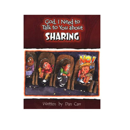 Sách Chúa Ôi, Con Cần Nói Chuyện Với Ngài Về Sự Chia Sẻ - God, I Need To Talk To You About Sharing - Tiếng Anh - SA-562248