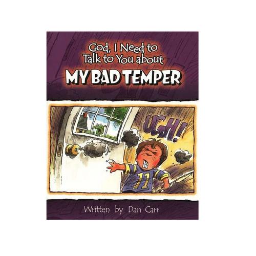Sách Chúa Ôi, Con Cần Nói Chuyện Với Ngài Về Tính Xấu Của Con - God, I Need To Talk To You About My Bad Temper - Tiếng Anh - SA-562250
