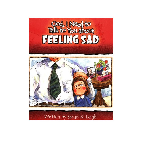 Sách Chúa Ôi, Con Cần Nói Chuyện Với Ngài Về Sự Buồn Bã - God, I Need To Talk To You About Feeling Sad - Tiếng Anh - SA-562497