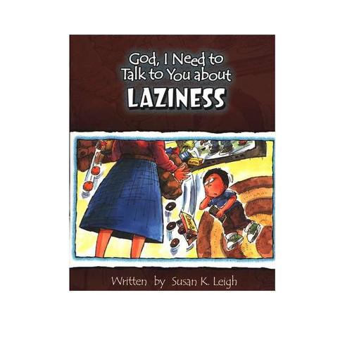 Sách Chúa Ôi, Con Cần Nói Chuyện Với Ngài Về Sự Lười Biếng - God, I Need To Talk To You About Laziness - Tiếng Anh - SA-562341