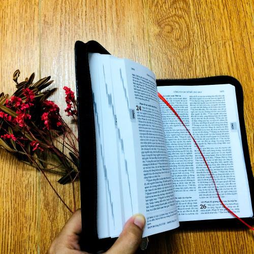 Kinh Thánh Tiếng Việt - Bản Truyền Thống - Bìa Dây Kéo (Nhỏ) - KTTV-000173
