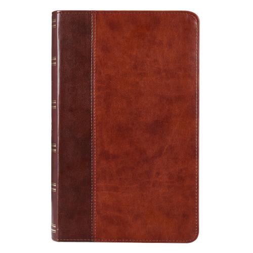 Kinh Thánh Tiếng Anh - Bản King James Version KJV - Giant Print Bible Bìa Nâu  - KJV073