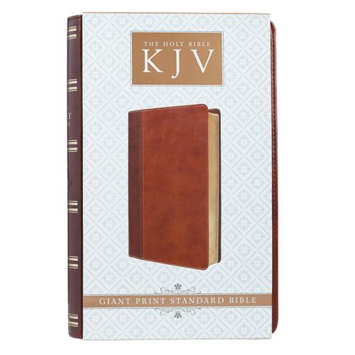 [HẾT HÀNG] Kinh Thánh Tiếng Anh - Bản King James Version KJV - Giant Print Bible Bìa Nâu  - KJV073