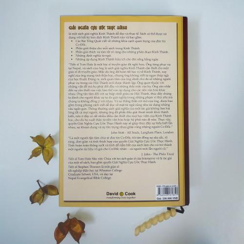 Sách Giải Nghĩa Cựu Ước Thực Hành - KG-TN-1739