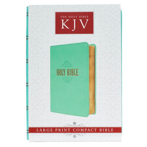 Kinh Thánh Tiếng Anh - Bản King James Version KJV - Large Print Compact - Bìa Xanh Ngọc - KJV070