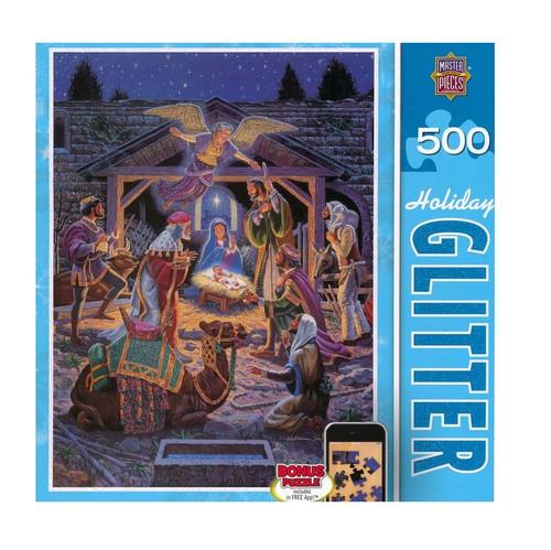 Bộ Xếp Hình - Holy Night - Đêm Thánh - 500 mảnh ghép - BXH-13