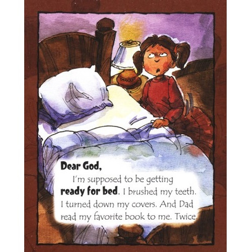 Sách Chúa Ôi, Con Cần Nói Chuyện Với Ngài Về Giờ Đi Ngủ - God, I Need To Talk To You About Bed Time - Tiếng Anh - SA-562486