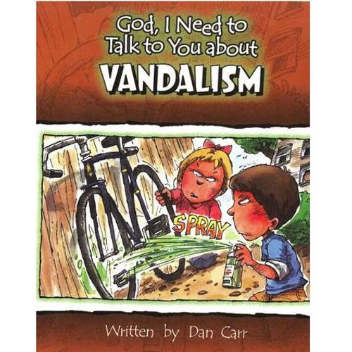Sách Chúa Ôi, Con Cần Nói Chuyện Với Ngài Về Sự Nghịch Phá - God, I Need To Talk To You About Vandalism - Tiếng Anh - SA-562247