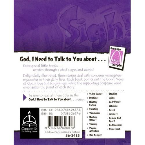 Sách Chúa Ôi, Con Cần Nói Chuyện Với Ngài Về Bài Tập Về Nhà - God, I Need To Talk To You About Homework - Tiếng Anh - SA-1791