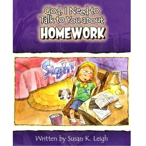 Sách Chúa Ôi, Con Cần Nói Chuyện Với Ngài Về Bài Tập Về Nhà - God, I Need To Talk To You About Homework - Tiếng Anh - SA-562485