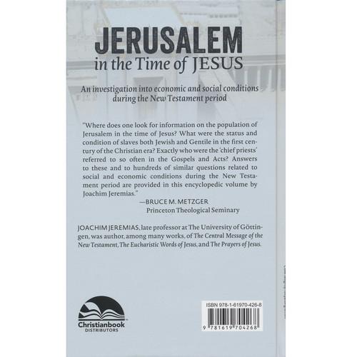 Sách Jerusalem In The Time Of Jesus - Jerusalem Trong Thời Đại Của Chúa Jesus - Tiếng Anh - SA-1973