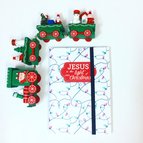 [] Sổ In Bìa Nhỏ - Jesus Is The Light Of Our Christmas - SO-1810