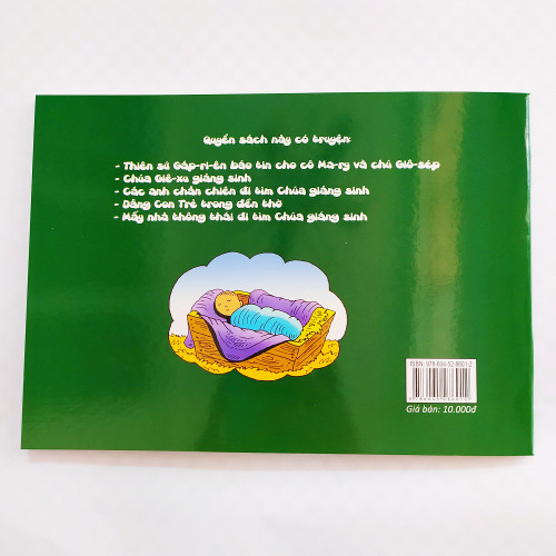 Sách Truyện 3T Giáng Sinh : Tập Đọc - Tập Viết - Tập Tô Màu - KG-XT-61