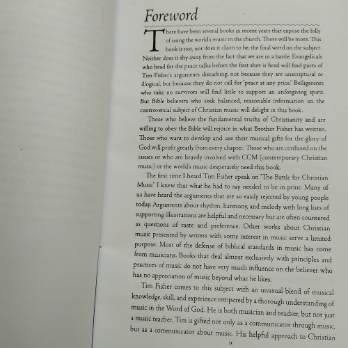 Sách The Battle For Christian Music - Chiến Cuộc Âm Nhạc Cơ Đốc (Tiếng Anh) - KG-PT-1837