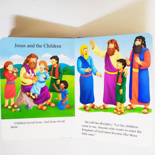 Truyện Tích Kinh Thánh Tiếng Anh Cho Trẻ Em - The Beginner's Bible: Stories About Jesus - 1848