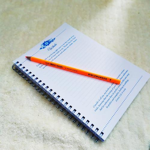 Bút Chì Đánh Dấu Kinh Thánh - Màu Cam Neon