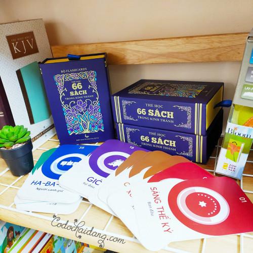 Bộ Flash Cards - Thẻ Học 66 Sách Trong Kinh Thánh - KG-SU01