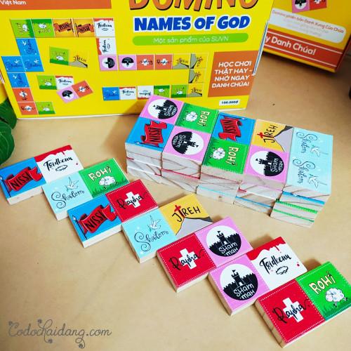Bộ Trò Chơi Cờ Domino - Danh Xưng Của Chúa - Names Of God - KG-SU06