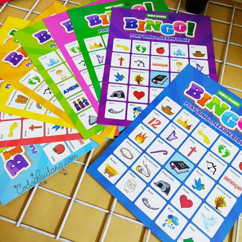 Bộ Trò Chơi Bingo - KG-SU08
