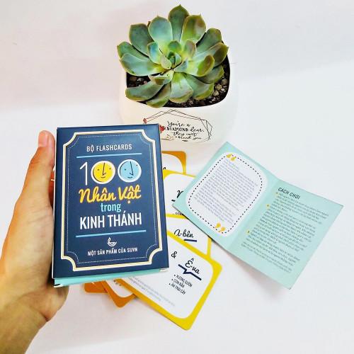 Bộ Flash Cards - 100 Nhân Vật Trong Kinh Thánh - KG-SU09
