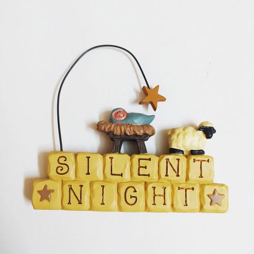 Đồ Trang Trí Để Bàn - Đêm Yên Lặng - Silent Night - TT-1926