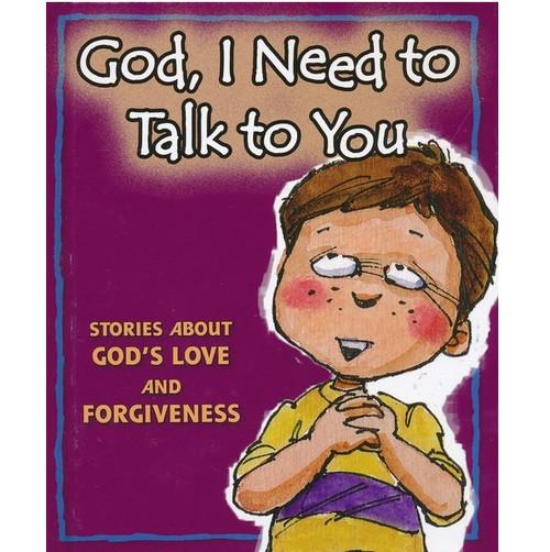 """Sách Bộ Sưu Tập Chủ Đề """"Chúa Ôi, Con Cần Nói Chuyện Với Ngài"""" - God, I Need To Talk - Tiếng Anh - SA-1933"""