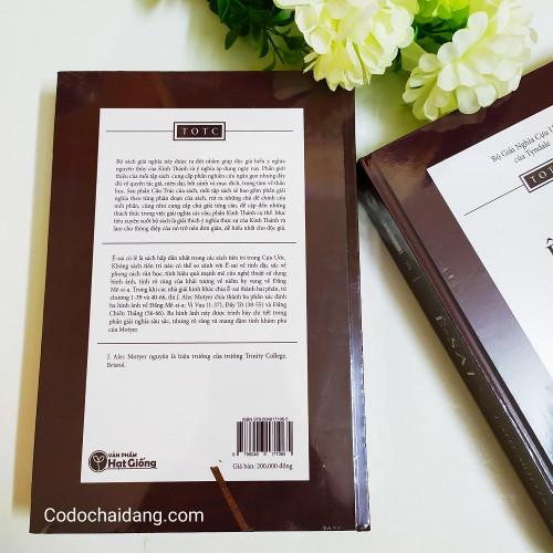 Sách Giải Nghĩa Cựu Ước Tyndale: Ê-sai - KG-VPHG-22