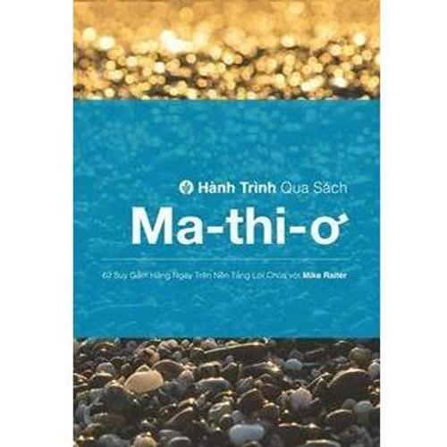 Sách Hành Trình Qua Sách Ma-thi-ơ