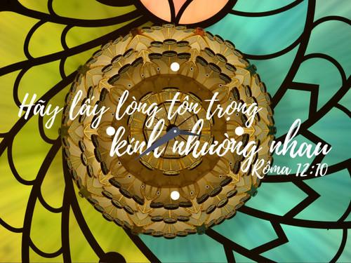 Đồng Hồ Lamina Wedding - Mẫu 3 - Rô-ma 12:10