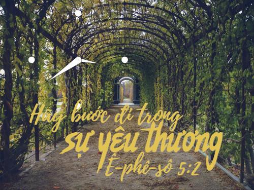 Đồng Hồ Lamina Wedding - Mẫu 2 - Ê-phê-sô 5:2
