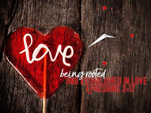 Đồng Hồ Lamina Wedding - Mẫu 1 - Ê-phê-sô 3:17