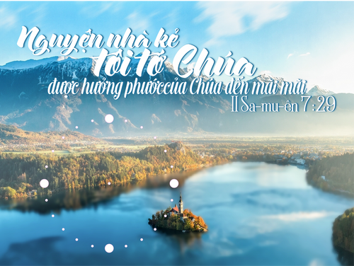 Đồng Hồ Lamina Tân Gia - Mẫu 2 - II Sa-mu-ên 7:29
