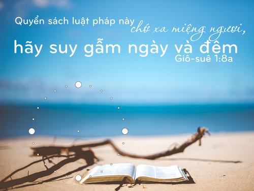 Đồng Hồ Lamina Tân Gia - Mẫu 1 - Giô-suê 1:8a