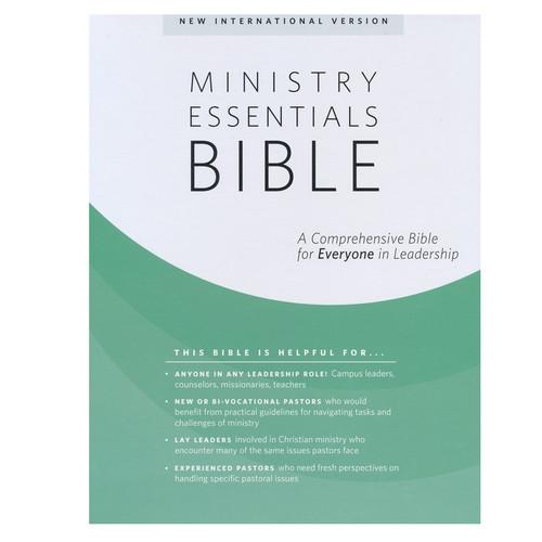 Kinh Thánh Tiếng Anh - Bản New International Version NIV - Ministry Essentials Bible, Flexisoft - Bìa Đen/Nâu - KTTA-0406