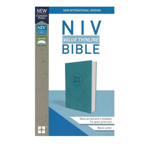 Kinh Thánh Tiếng Anh - Bản New International Version NIV - Value Thinline Bible - Bìa Xanh Ngọc - KTTA-0410