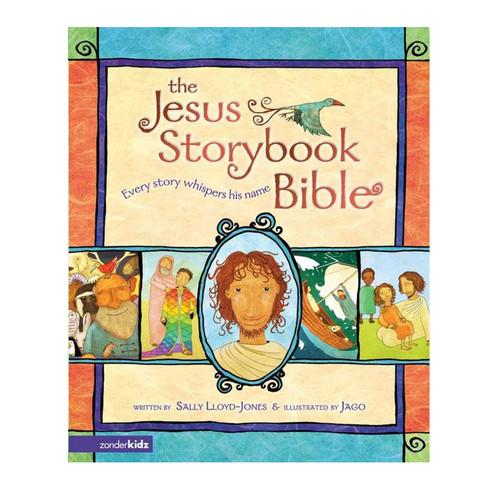 Truyện Tích Kinh Thánh Tiếng Anh Cho Trẻ Em - The Jesus Storybook Bible: Every Story Whispers His Name - KTTA-0411