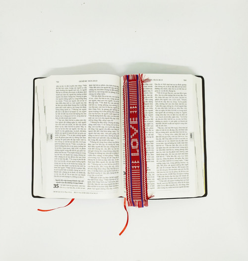 Bookmark Thổ Cẩm - LOVE - BM-0739
