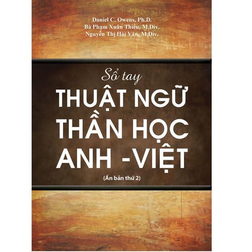 Sách Sổ Tay Thuật Ngữ Thần Học Anh-Việt - KG-VPHG-06