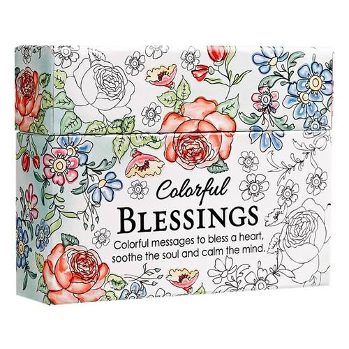 Card Tô Màu Cơ Đốc - Colourful Blessings - CBX002