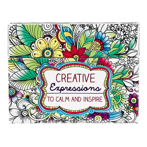 Card Tô Màu Cơ Đốc - Creative Expressions - CBX001