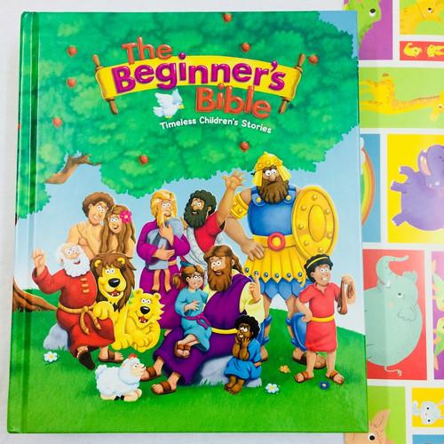 Truyện Tích Kinh Thánh Tiếng Anh Cho Trẻ Em - The Beginner's Bible: Timeless Children's Stories