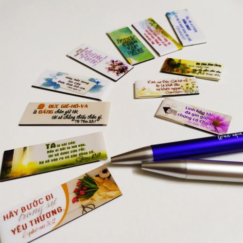 Bookmark Nam Châm Trung - Nhiều Mẫu Ngẫu Nhiên - BMNC-M01
